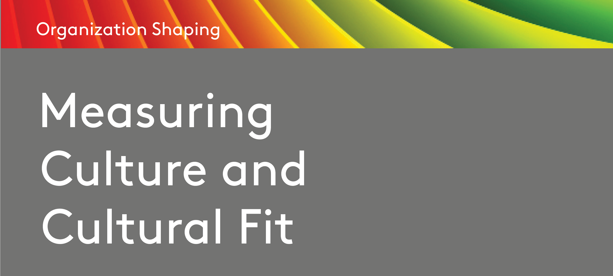 Measuring Corporate Culture Cover
