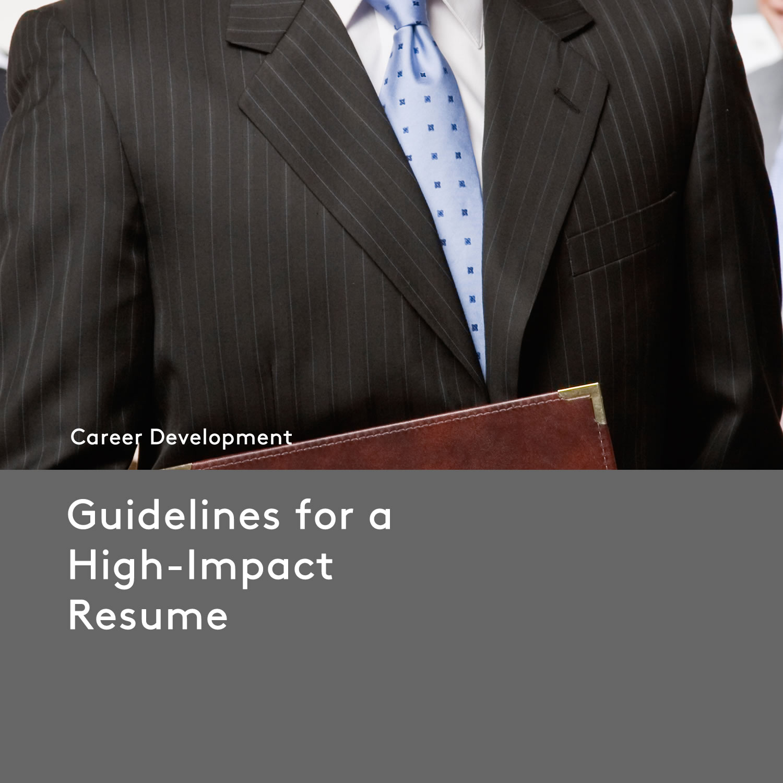 Resume_Guidelines-B